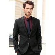 Mens Next Slim Fit Suit Jacket - Black