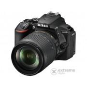 Aparat foto Nikon D5600 kit (obiectiv 18-105mm VR), 3 ani garantie la body