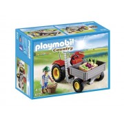 PLAYMOBIL Country: Tractor Met Laadbak ( 6131)