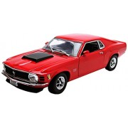 Motormax 1:18 1970 Ford Mustang Boss 429 Vehicle