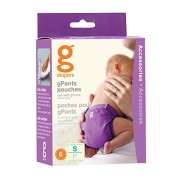Gnappies Gpant Pouches, 6ct, Small Reuseable Nappies
