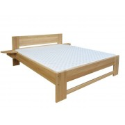 Steiner Shopping Furniture Childrens bed / Teen bed solid, natural beech wood 110,t including slats - Meas
