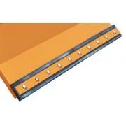 Tartalék hótoló gumicsík 15x2 cm keresztmetszetű 150 cm vagy 180 cm széles targonca hótolólap gumi tartalék alkatrész