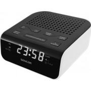 Digitális rádiós ébresztő óra SRC 136 WH
