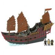 Pirates Of The Carribean 3: Pirate Armada Empress with Singapore Playset