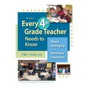 What Every 4th Grade Teacher Needs to Know by Mike Anderson
