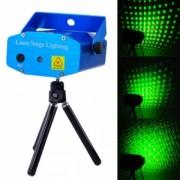 Двуцветен диско лазер със звуков контрол и различни фигури