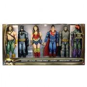 DC Batman v Superman: Dawn of Justice Aquaman Batman Wonder Woman Superman Armor Batman & Lex Luthor 12 Action Figure 6-Pack