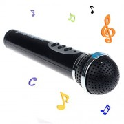 SROPS Chicas Chicos Mic Microfono Karaoke Canto Chico Gracioso Regalo Juguete Musical