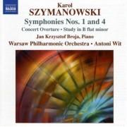 K. Szymanowski - Symphonies Nos.1 & 4 (0747313072279) (1 CD)