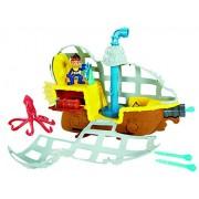 Fisher Price - Jake et les pirates - Bdj02 - Jouet De Bain - Bucky Sous Marin
