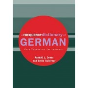 A Frequency Dictionary of German by Randall Jones