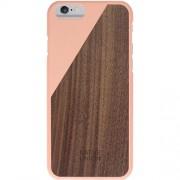 Husa Capac spate Clic Luxury Blossom Walnut Roz APPLE iPhone 6, iPhone 6S NATIVE UNION