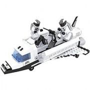 Ausini Outer-Space Port Utility Shuttle Building Bricks 180Pc Educational Blocks Set Compatible To Lego Parts - Great Gi