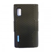 Funda Protector Mixto LG L5 E612 Negro