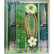 Large Incense gift Set Lelawadee Candle Joss Sticks & Cones