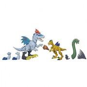 Jurassic World Indominus Rex vs. Velociraptor Mash Pack