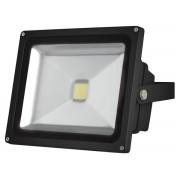 LED-Strahler für den Außenbereich - 30 W Epistar Chip - 3000 K, schwarz