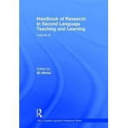 Handbook of Research in Second Language Teaching and Learning: Volume III by Eli Hinkel
