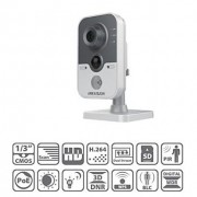 HIKVISION DS-2CD2432F-IW Onvif 3.0MP PoE IR Cube Network IP Camera(Built-in Mic, Wi-Fi, PIR)