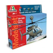 Italeri 71027 - Elicottero Militare Oh-58D Kiowa Warrior in Scala 1:72