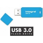 USB Flash Drive Integral Neon 8GB Albastru