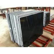 Marmura Nero Marquina lustruita, pe stoc, dimensiunea 600x600mm cu grosime de 2cm