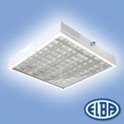 Por és páramentes lámpa FIRAD 04 APLA 4x18W átlátszó polikarbonát búra IP55 Elba