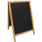 Tabla info, rama lemn, 55 x 85cm, SECURIT