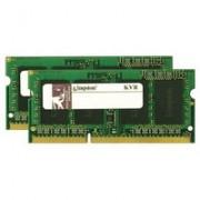Kingston Technology ValueRAM 8GB DDR3 1333MHZ SODIMM (KVR13S9S8K2/8)