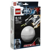 Lego TIE Interceptor and Death Star