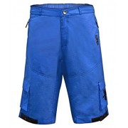 Funkier Uomo Camba B-3213-B7 Mountain Bike Rider pantaloncini larghi, Uomo, Camba B-3213-B7, Blue, 2X-Large