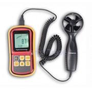 Anemometer GM 8901 (Merač rýchlosti a teploty vetra s oddeleným snímačom)