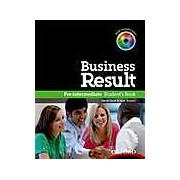 Business Result Pre-intermediate - Student's Book + DVD-ROM Pack