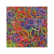 Elastice Rainbow Loom - Jelly Mix 600 buc