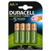 Acumulator Duracell AAK4 2500mAh StayCharged 4 bucati Verde