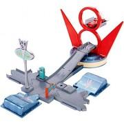 Disney Cars Jump and Race Flo's V8 Play Set by Disney