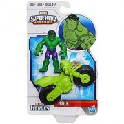 Marvel Playskool Heroes Super Hero Adventures Hulk Action Figure Set
