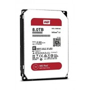 WD Red WD80EFZX Hard Drive per NAS, Intellipower, SATA lll 6 GB/s Cache