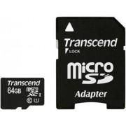 SECURE DIGITAL CARD MICRO SDXC 64GB (Class 10), UHS-I, 300x TRANSCEND (TS64GUSDU1)