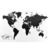 Luxe houten wereldkaart True Puzzel 100 X 60cm | Mimi Goods