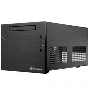 Geh Silverstone SST-SG08B-Lite Cube mITX USB3 schwarz ret