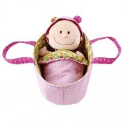 lilliputiens Lalka Baby Chloe w nosidełku