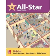 All Star Level 4 Student Book with Work-Out CD-ROM by Linda Lee