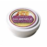 Crema cu extract de galbenele, ulei din germeni de grau, miere de albine 15g Manicos