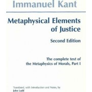 Metaphysical elements of Justice by Immanuel Kant