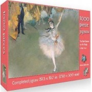 The Star - Dancer on the Stage by Edgar Degas by Flame Tree Studio