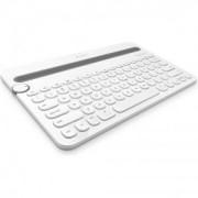 Logitech Bluetooth Multi-Device Keyboard K480, White