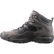 Salomon Elios Mid GTX 3 Hiking Shoes Men autobahn/black/green glow 2016 45 1/3 Multifunktionsschuhe