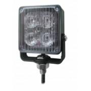 Flash auto LED GALBEN cu montare pe brat metalic -12/24V si 18 tipuri de flash